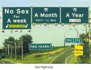 sex hwy sign